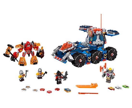 Wybrane zestawy klocków Lego 50% taniej np. Nexo Knights Pojazd Axla za 174,99zł