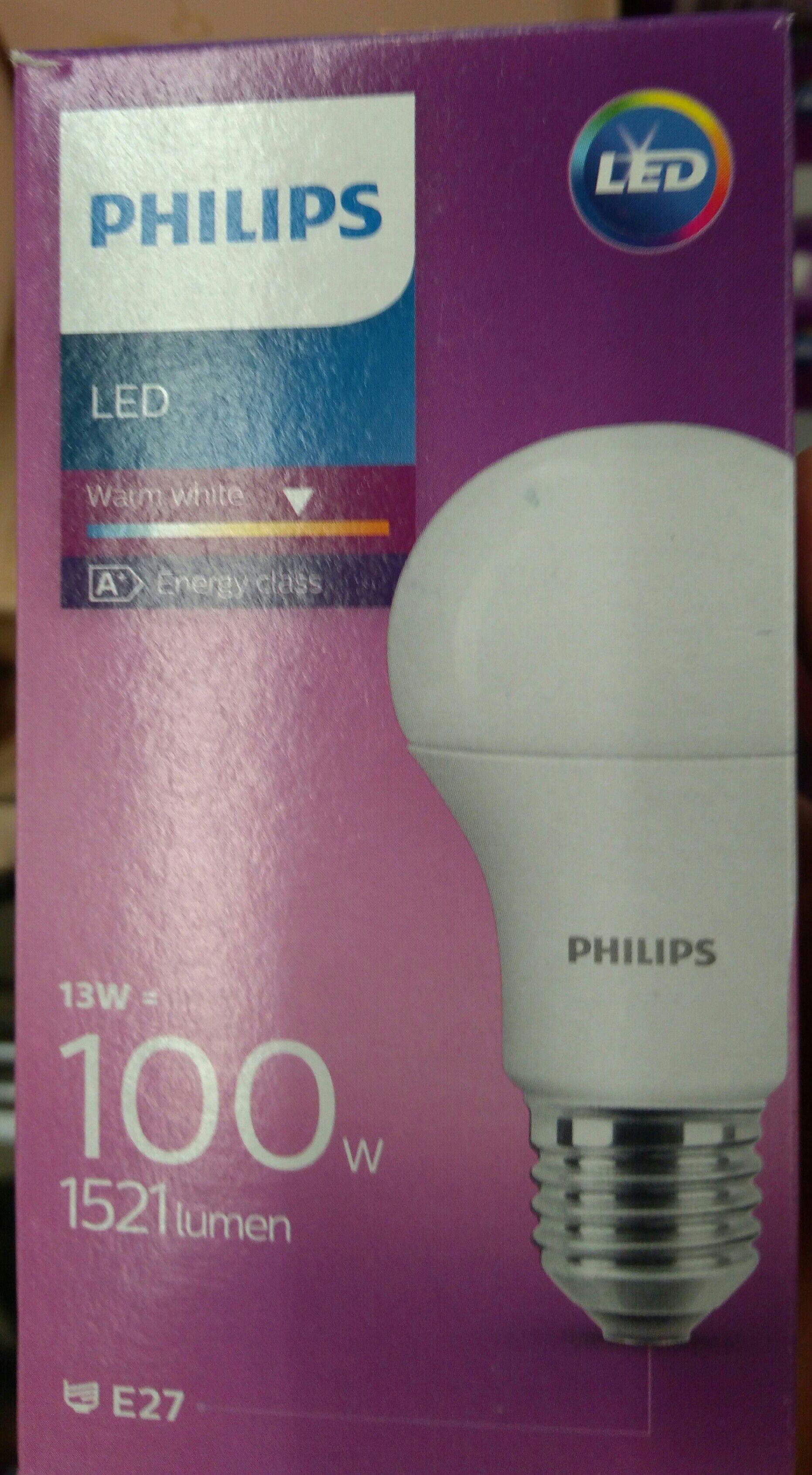 Żarówka Philips LED 100W (13W) 1521 lumen