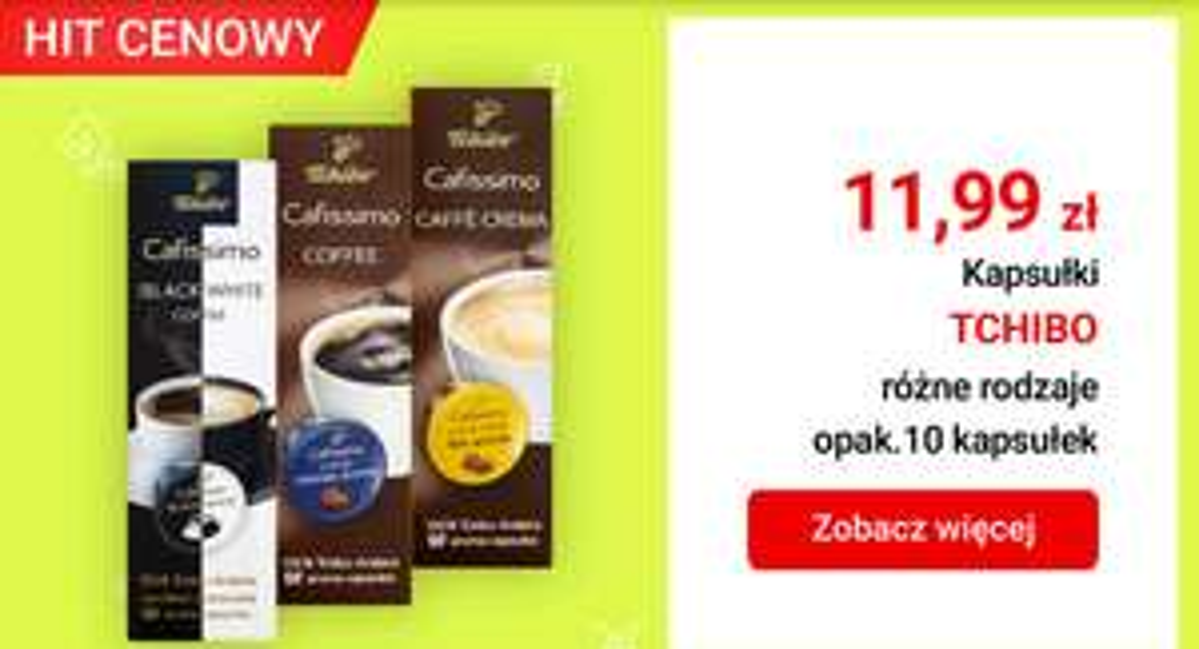 Kapsułki Tchibo Cafissimo @ Carrefour