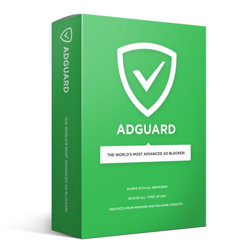 AdGuard (PC, MAC, ANDROID) na rok za darmo