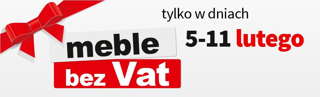 Meble taniej bo bez VAT @ Black Red White
