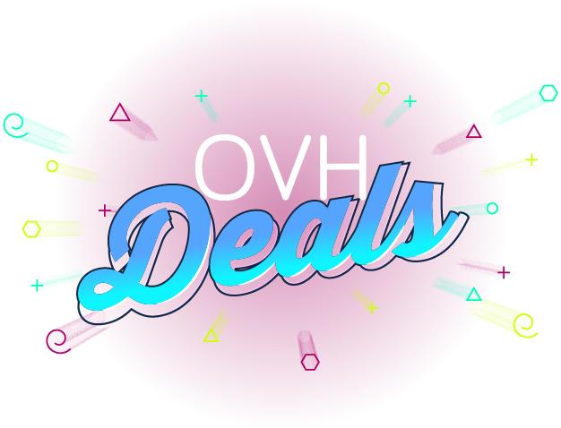 OVH Deals - tańsze domeny i serwery