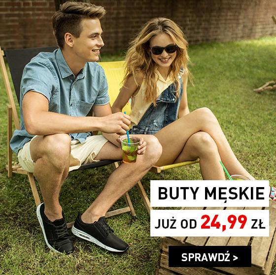 Buty męskie w Born2be.pl - promocja