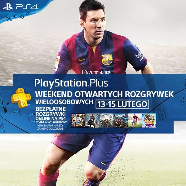 Weekend otwartych rozgrywek wieloosobowych (13-15 lutego) @ Playstation Plus