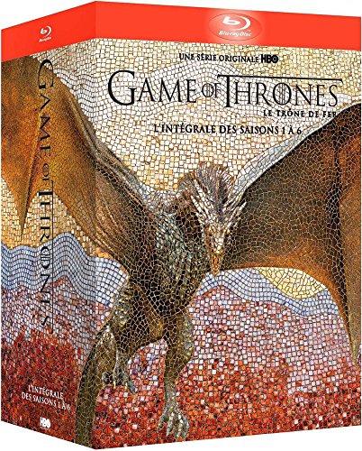 Game of Thrones sezony 1-6 (Gra o Tron) (sezony 1-5 z polskimi napisami/lektorem!) [Blu-Ray] @ Amazon (FR)