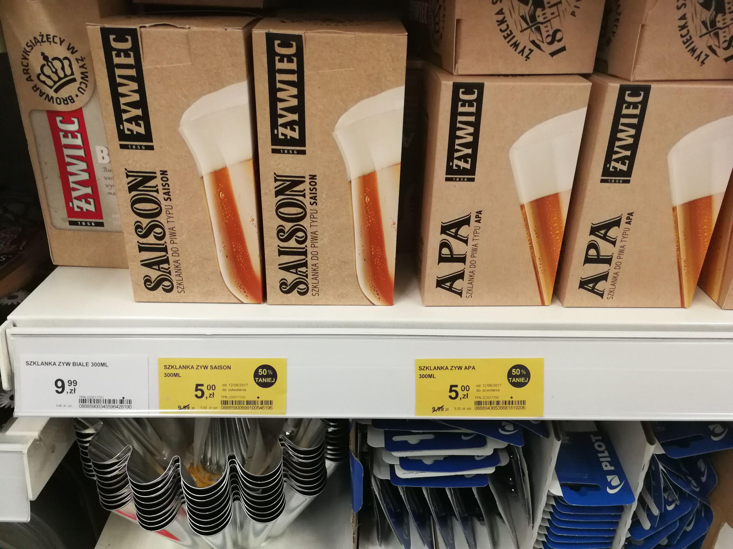 Szklanki do piwa - Tesco