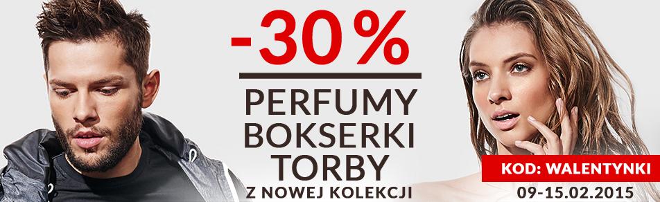 -30% na perfumy, torby i bokserki @ Diverse