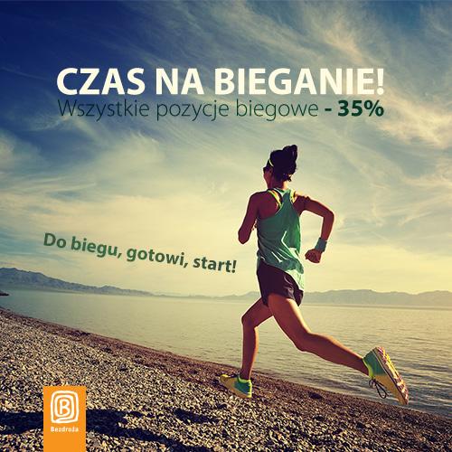 Bieganie. 35% taniej poradniki i inne tytuły biegowe @ Bezdroża
