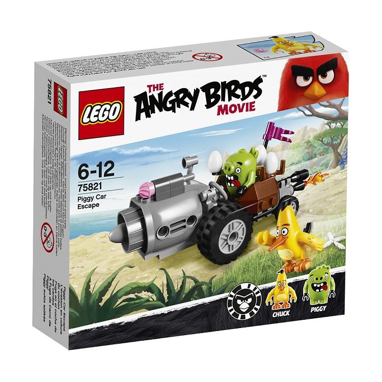 LEGO Angry Birds, Ucieczka samochodem świnek za 29,99zł (-63%) @ Smyk
