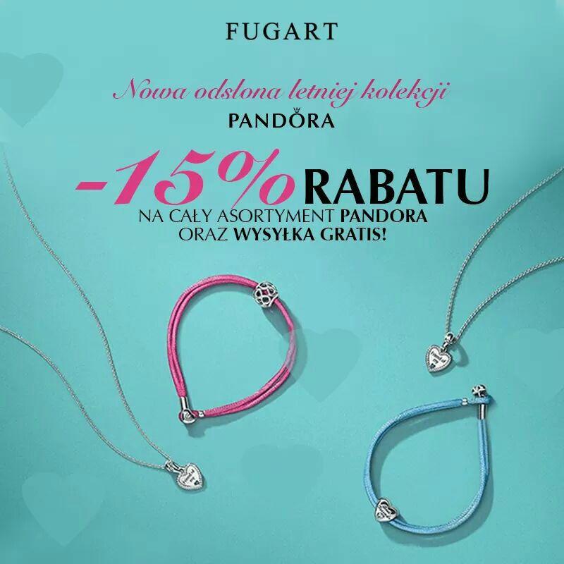 Biżuteria Pandora -15% Pozostała -12%