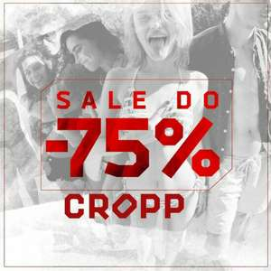 Cropp wyprzedaże do - 75%