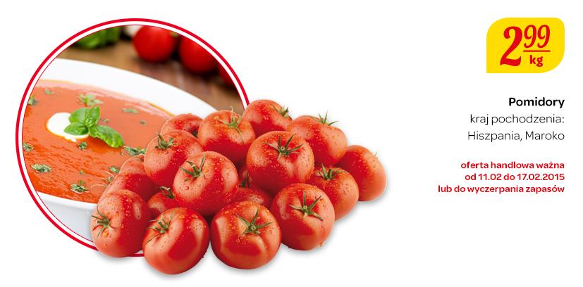 Pomidory w cenie 2,99 zł za kilogram @ Carrefour