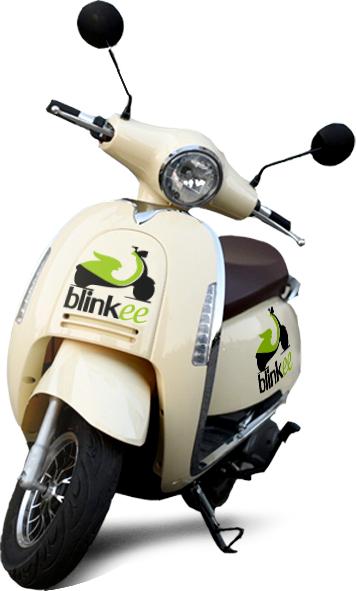 @Blinkee Poznań 15zł dla nowych użytkowników, dziś start nowej usługi !