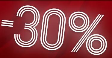 -30% na WYPRZEDAŻE - ostatni dzień promocji !