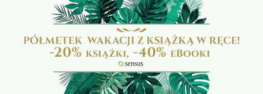 Książki -20% ebooki -40% @ Sensus
