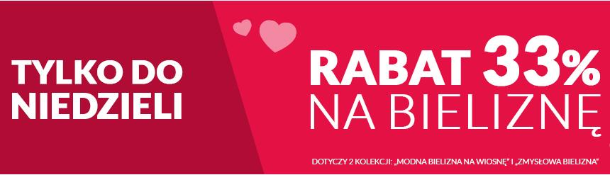 Rabat 33% na bieliznę @ Tchibo