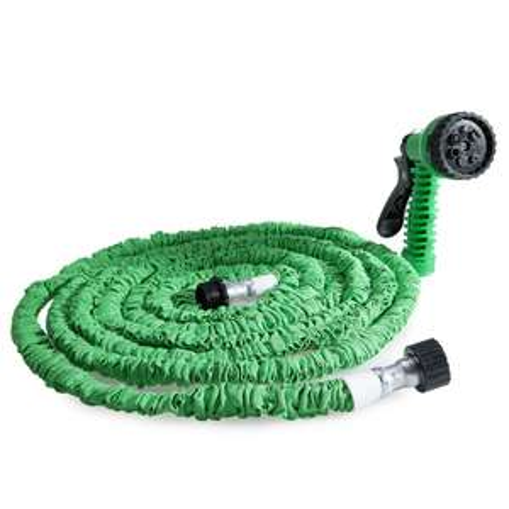 [Gamiss] 15m wąż ogrodowy z 7 in 1 Spray Gun za ok 32 zł