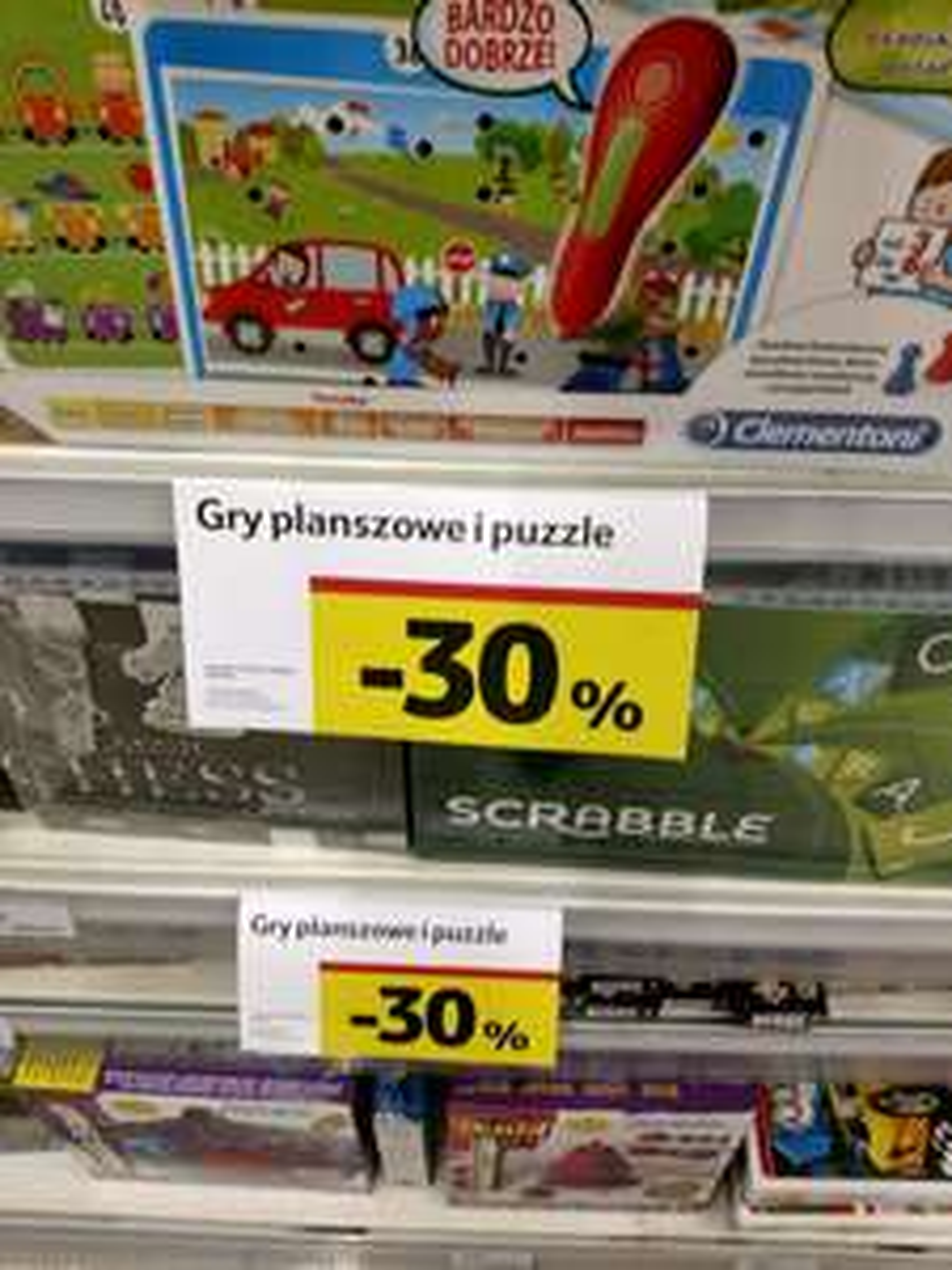 Tesco -30% na gry planszowe i puzzle