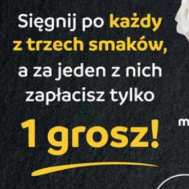 Trzecie opakowanie lodów za 1gr @ Biedronka