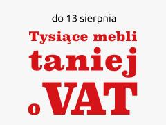 Wybrane meble taniej o VAT @ Black Red White