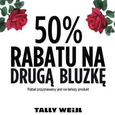 Druga bluzka 50% taniej @ Tally Weijl