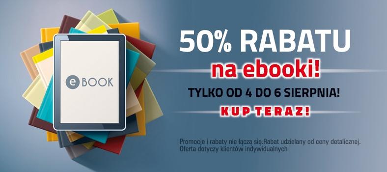 50% rabatu na ebooki @ Czarna Owca