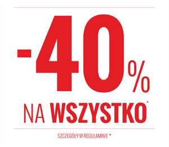 -40% na wszystko @ House