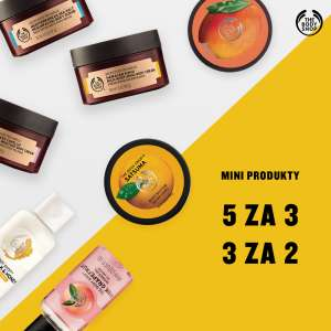 5 za 3, 3 za 2, druga rzecz -50% oraz kremy do rąk 10zł tańsze @ The Body Shop