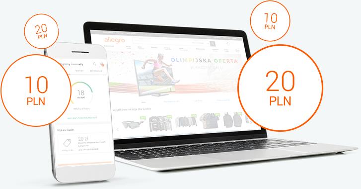 Kupon 20zł za zakupy 50zł na Allegro w kategoriach szkoła i elektronika.