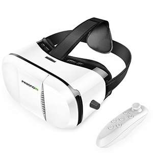 Gogle VR Pansomi + kontroler za ~25,50zł (pasują min. do Galaxy S7/S7, iPhona 5/6/6s/7+) @ Amazon
