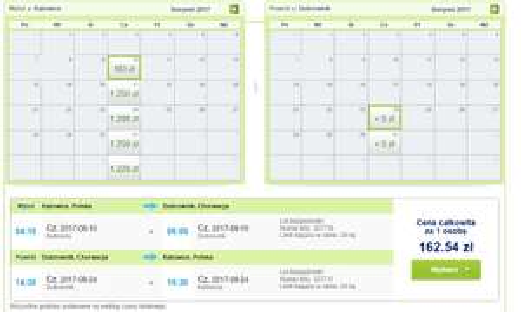 Bilety lotnicze Katowice - Dubrovnik (Chorwacja) - Katowice za 162,53zł (z bagażem!) @ Rainbow