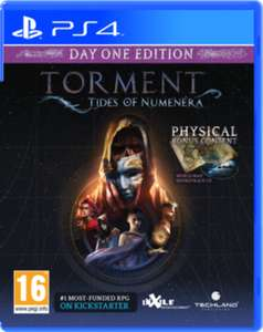 Torment: Tides of Numenera - Day 1 Edition za ok. 55zł (PS4, XONE) @ Game