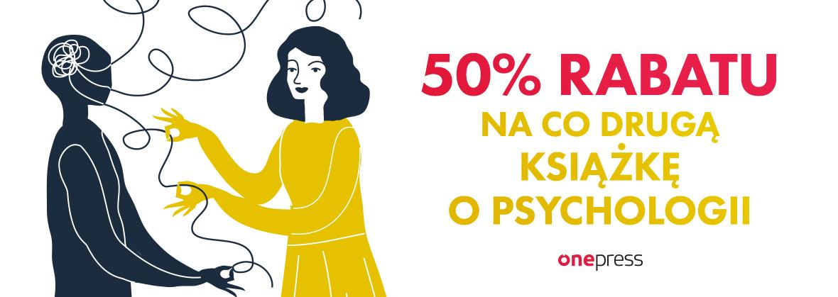 Psychologia: co druga książka 50% taniej @ Onepress