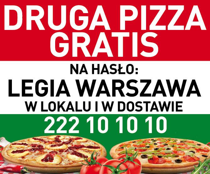 Gusto Dominium [Warszawa i okolice] 2 w cenie 1 Pizza