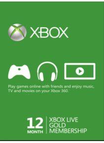 XBOX LIVE 12 miesięcy  (g2a)