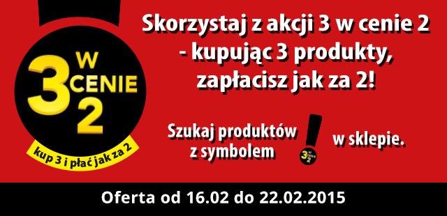 3 w cenie 2 @ Biedronka