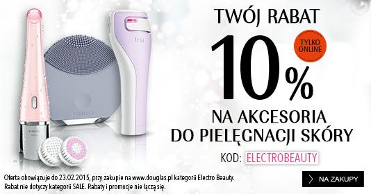 -10% na akcesoria do pielęgnacji skóry + gratis do zakupów @ Douglas