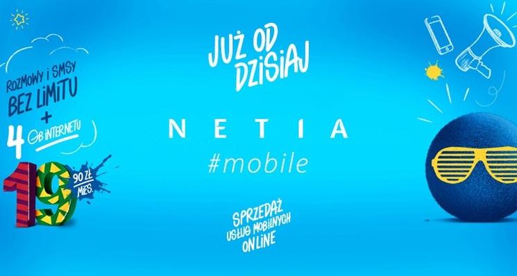 Netia Mobile w sklepie internetowym