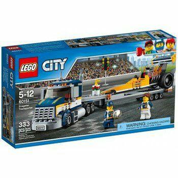 LEGO City, klocki Transporter dragsterów, 60151 -50%