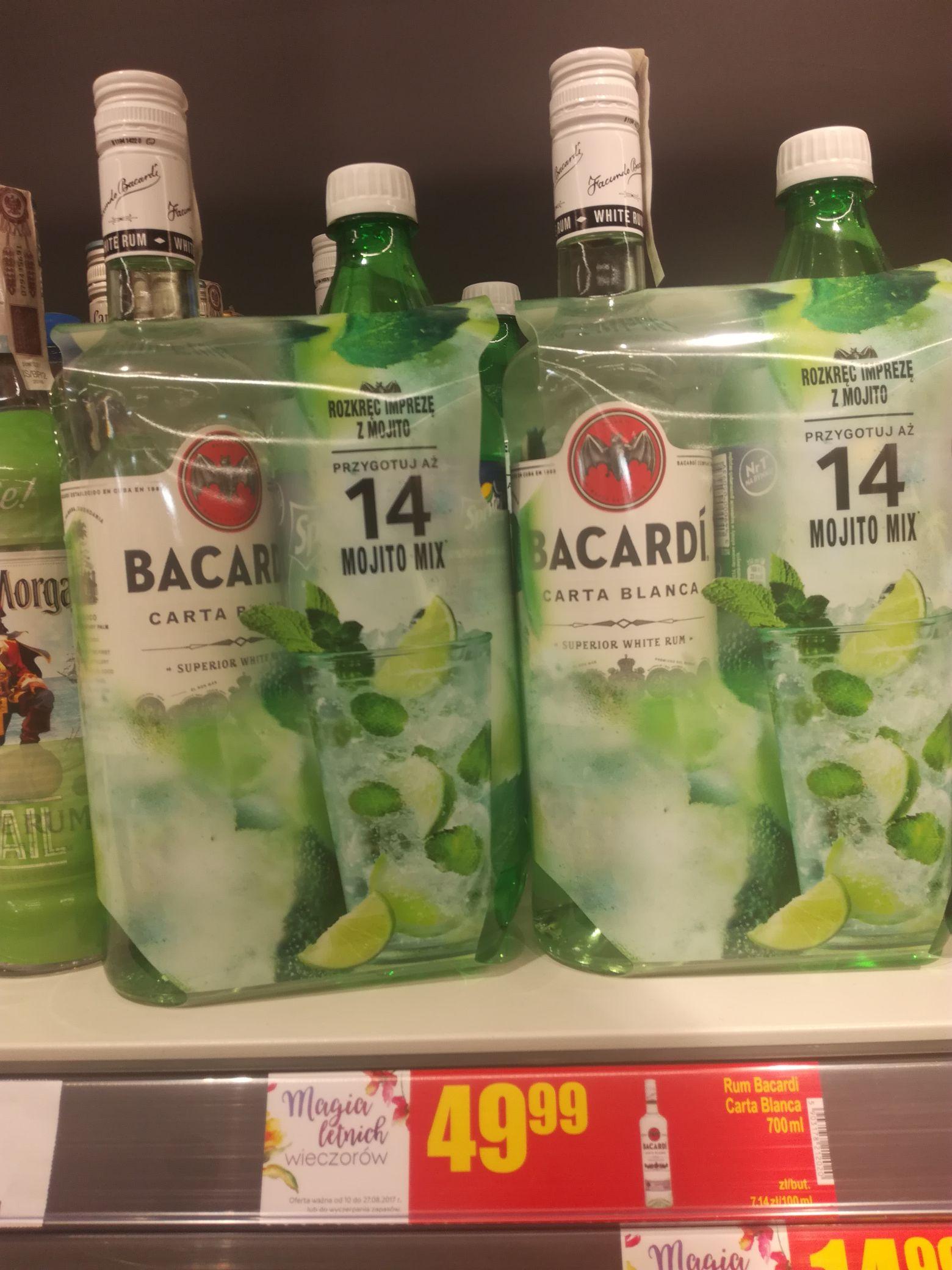 Bacardi 0,7 49.99zl