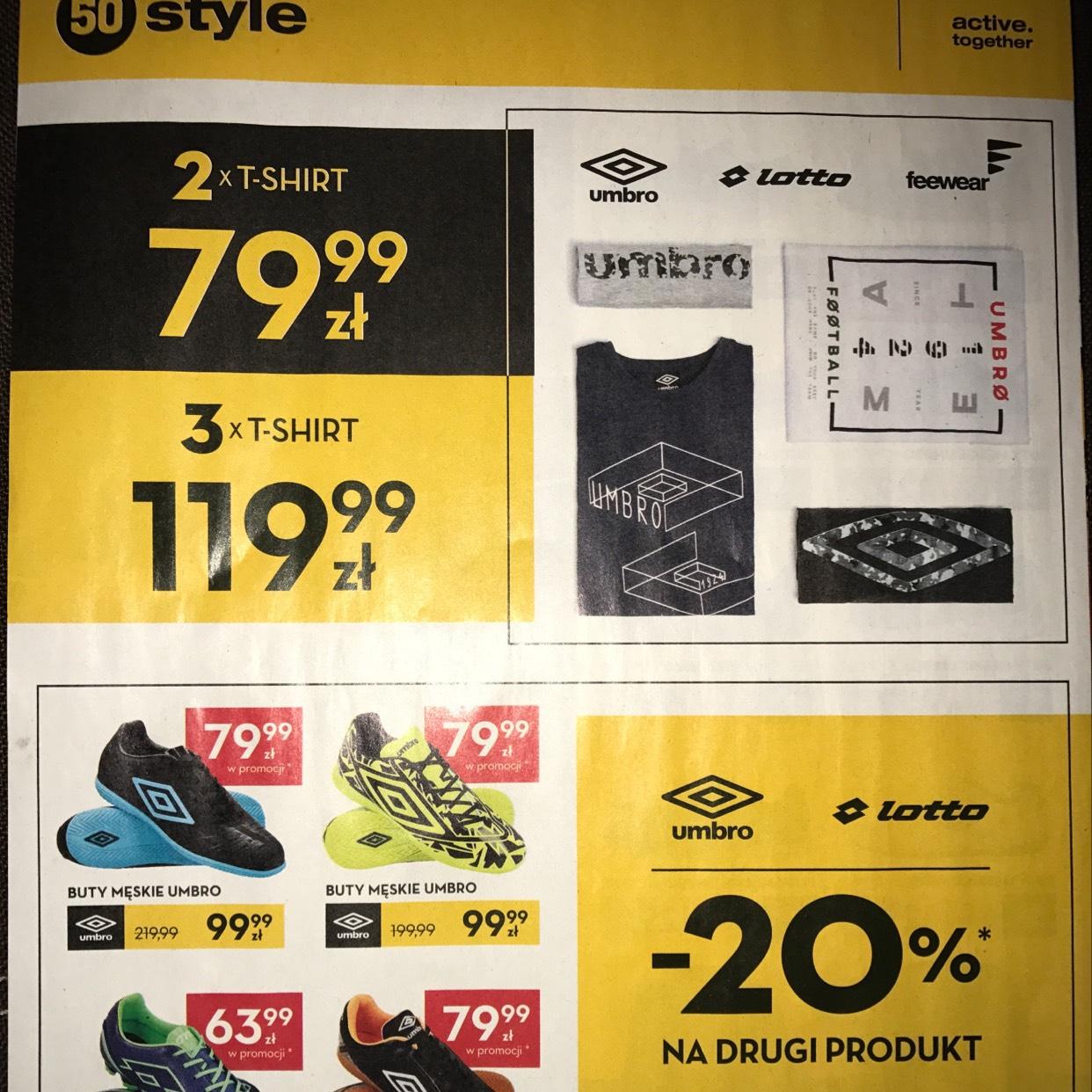Promocja na buty sportowe @ 50 Style