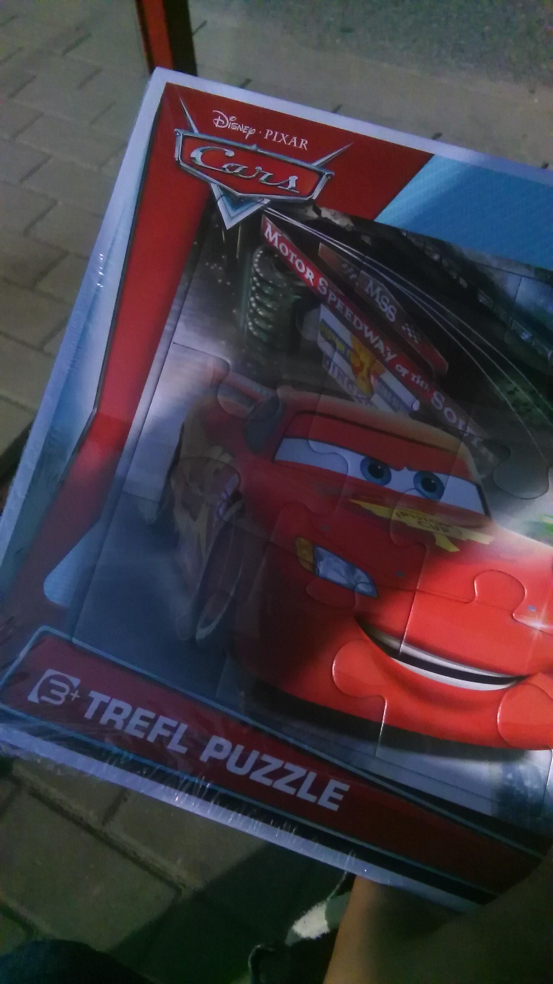 Kaufland puzzle ramkowe Cars