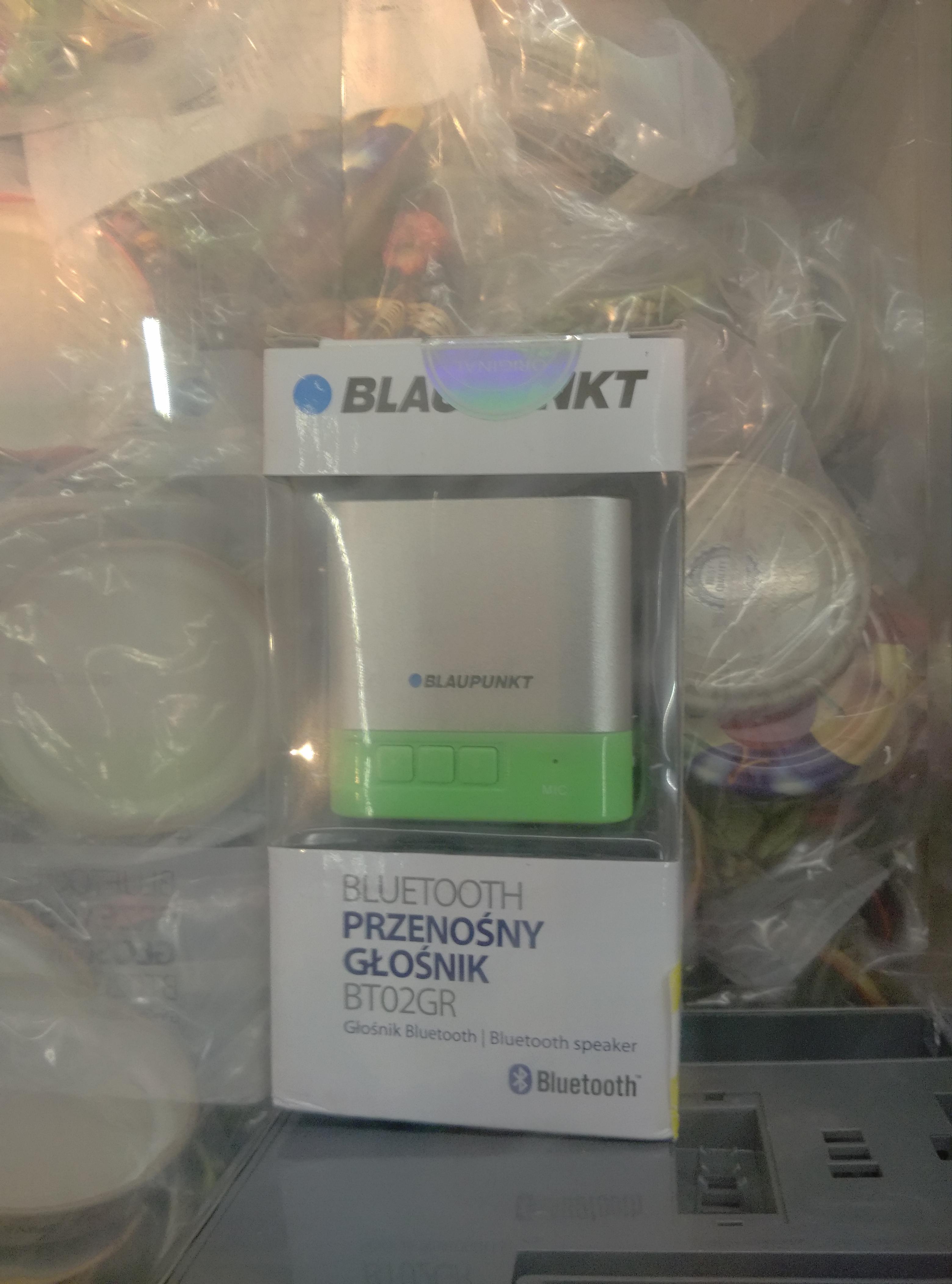 Głośnik Bluetooth Blaupunkt BT02GR Tesco Stargard