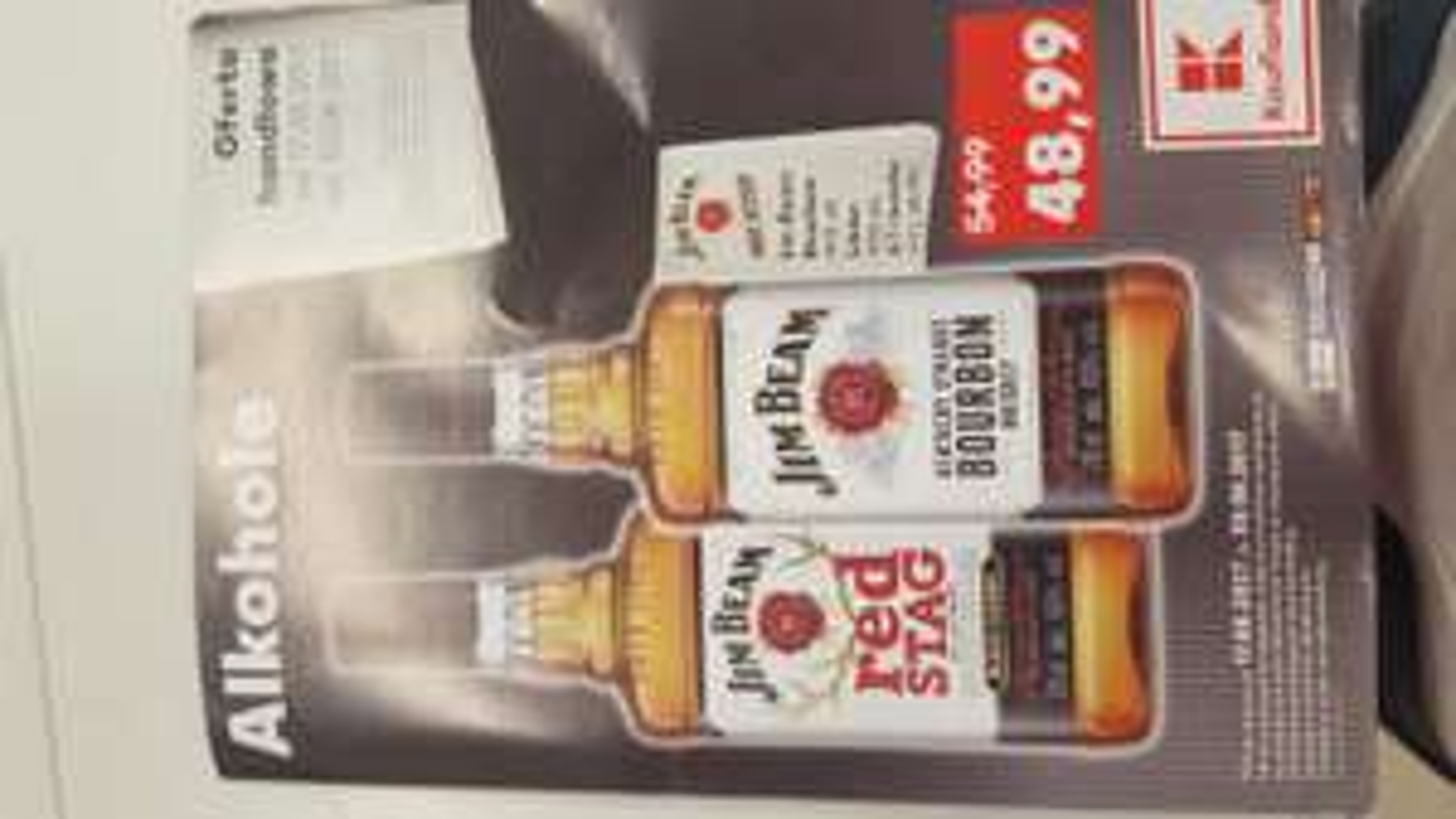 Jim Beam 0.7l i inne alkohole w Kauflandzie