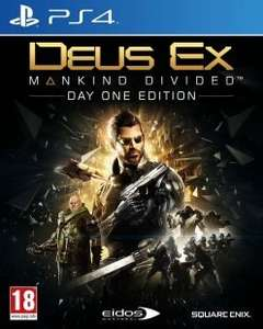[PS4] Deus Ex: Mankind Divided Day One PL