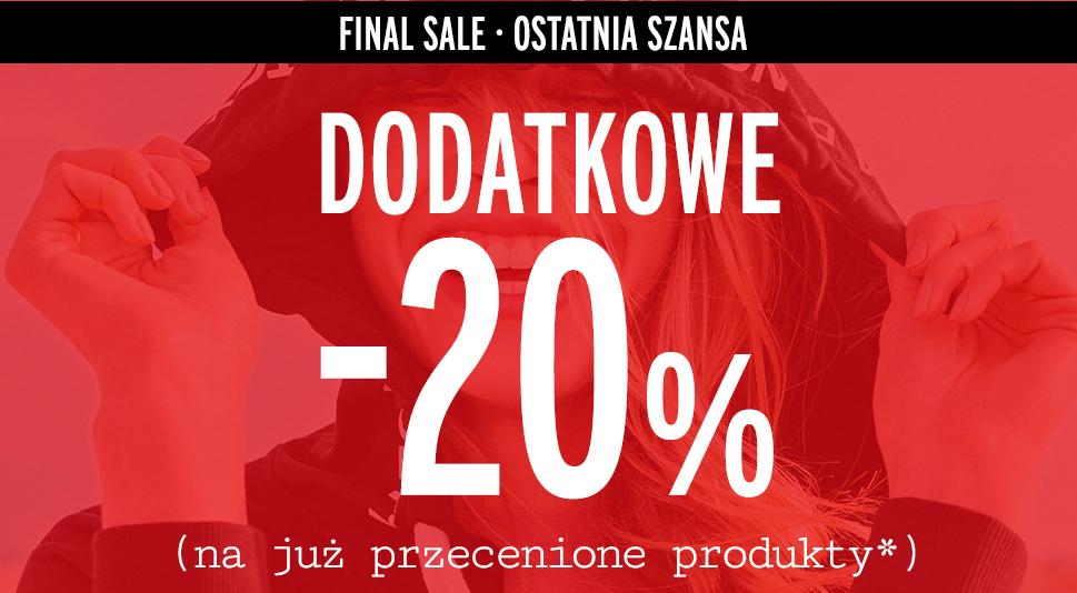 20% rabatu na przecenione produkty @ Orsay