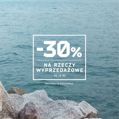 30% rabatu na wyprzedaż @ Cropp