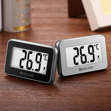 2 pokojowe termometry Digoo DG-TH1100 za ~15,50zł @ Banggood