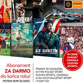 @Cyfrowy Polsat: Rodzinny HD z Cinemax i Eleven Sports