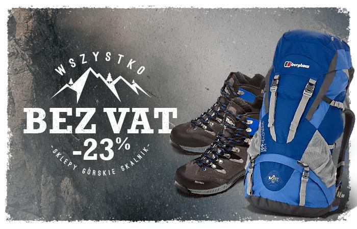 WSZYSTKO bez VAT (odzież outdoorowa/turystyczna, akcesoria, plecaki, obuwie itp.) do 26.02 @ Skalnik